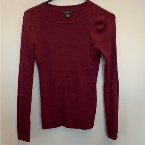 NWOT Halogen Ribbed Fitted Sweater